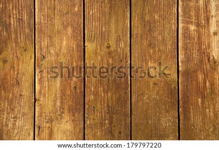 The old dirty boards. Wall covered with hardwood. Texture of old wooden board.