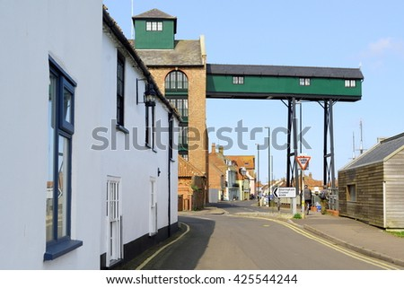 The Old Granary at Wells-next-the-Sea, Norfolk, England - stock photo