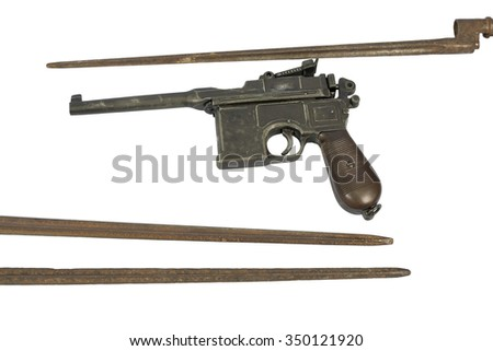The old legendary weapon that was used in a coup in 1917