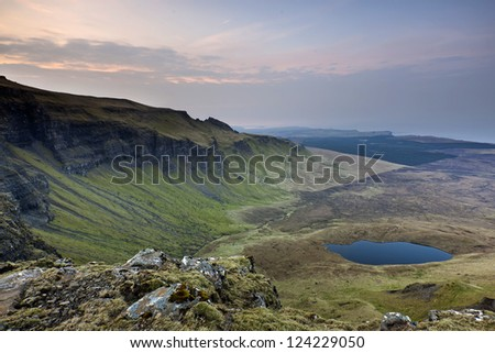The Old Man of Storr, Isle of Skye, Scotland - stock photo