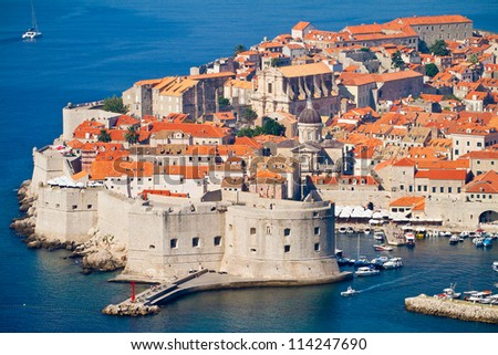 The Old Town of Dubrovnik, Croatia