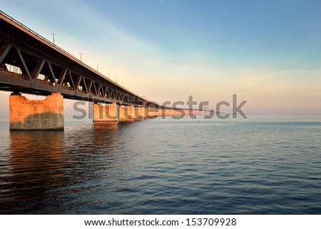 the Oresund Bridge,Malamo, Sweden