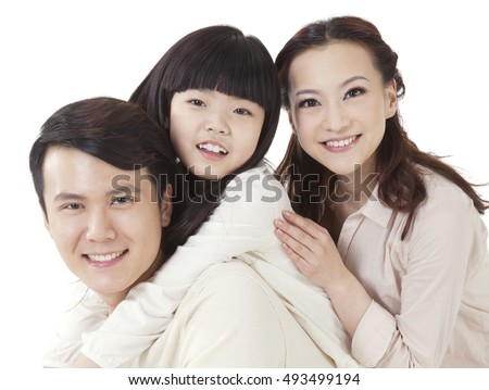 The Oriental family three