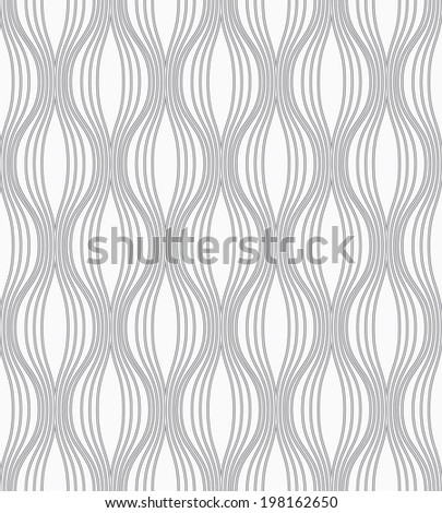 The original geometric pattern. Gray and white texture. Seamless background. - stock photo
