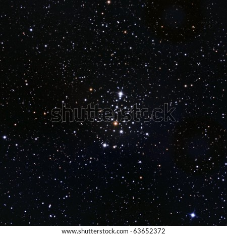 The Owl Cluster, M103 - stock photo