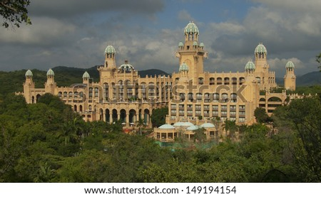 The Palace / Lost City /Sun City - stock photo