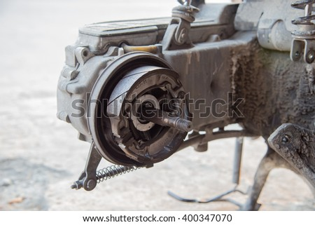The Part of motorcycle engine