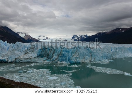 The Perito Moreno Glacier is a glacier located in the Los Glaciares National Park in south west Santa Cruz province, Argentina.