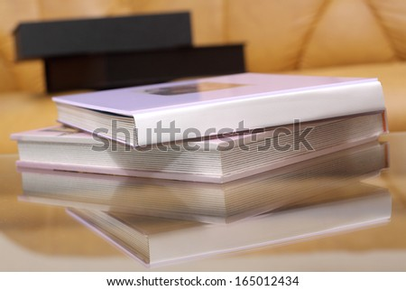 the photo album and its case