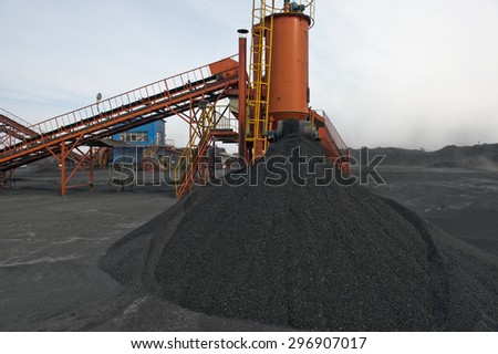 The plant, to callibrate, fraction, piece, transport, mine, minerals, digging, shipping, to walk, mine,