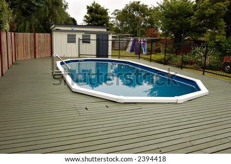 The Pool - stock photo