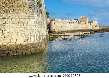 The Portuguese citadel of Mazagan, El Jadida, Morocco