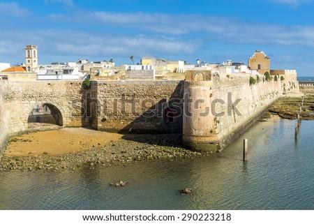 The Portuguese citadel of Mazagan, El Jadida, Morocco - stock photo