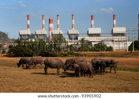 The power station in Thailand.
