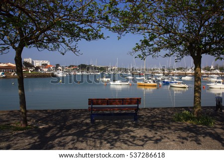 The pretty little port of Saint-Gilles Croix-de-Vie