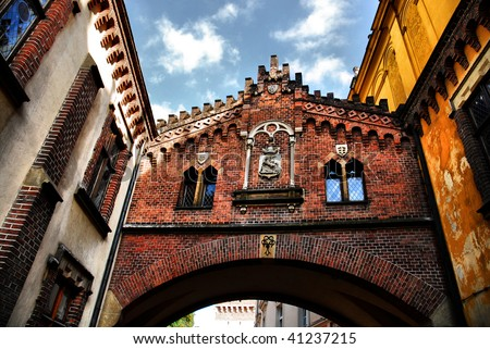 The Princes Czartoryski Museum in Krakow. Poland - stock photo