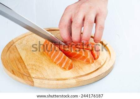 how to cut up a fish