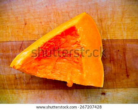 The Pumpkin. - stock photo