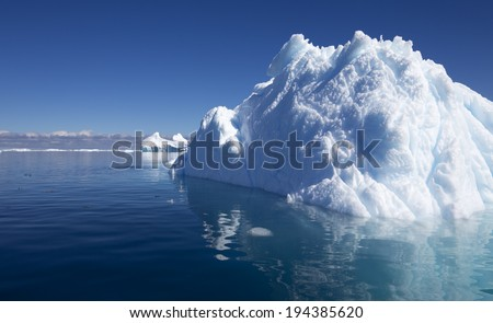 The purest waters of deep-water Antarctic fjords and crystal ice of subpolar areas. Research of a phenomenon of global warming.