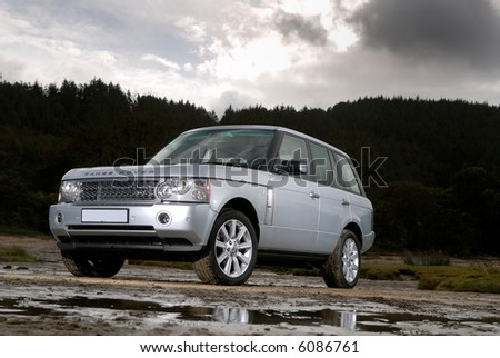 The Range Rover Supercharged V8 Sport