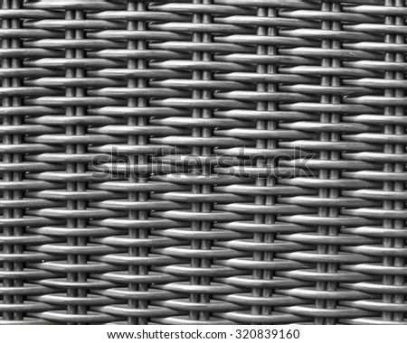 The rattan weaving background - stock photo