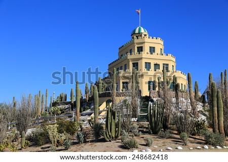 The renovated Tovrea Castle in Phoenix, Arizona - stock photo