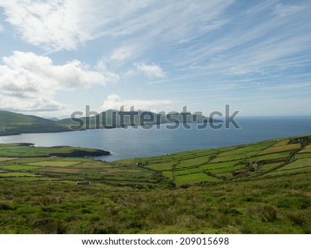 The ring of Kerry, Ireland - stock photo
