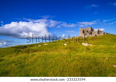 The Rock of Cashel in County Tipperary, Ireland - stock photo
