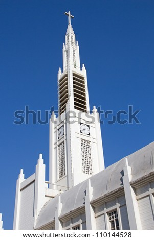 The Roman Catholic Cathedral in Maputo, Mozambique - stock photo