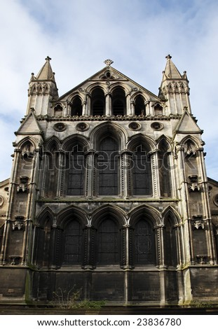 The Roman Catholic Cathedral of Norwich England - stock photo