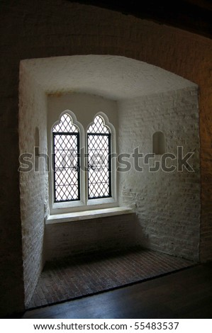 The Room of the Two Princes in the Tower of London in England