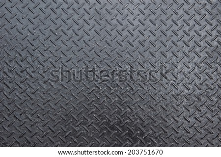 The rough diamond iron plate texture - stock photo