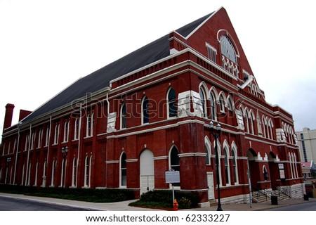 The Ryman Auditorium in Nashville, TN - stock photo