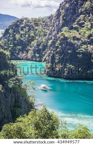 The S line of Coron, Palawan Philippines