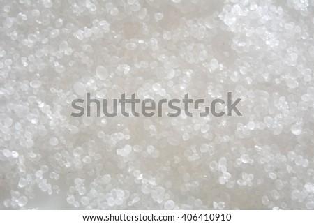 The salt crystals closeup, macro photography - stock photo