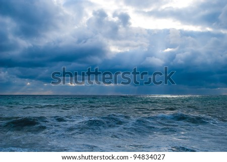 The sea - stock photo