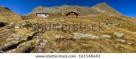 The Seespitz hut in Tyrol