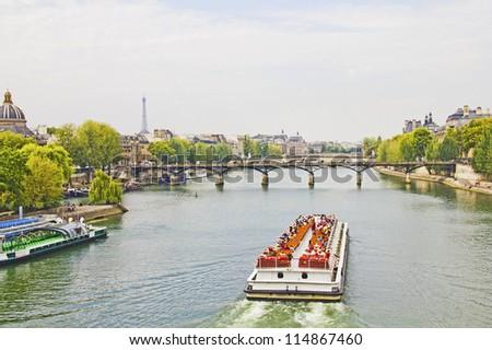 The Seine river, Paris - stock photo