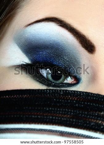 The sensual eye - stock photo