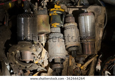The separate parts - stock photo