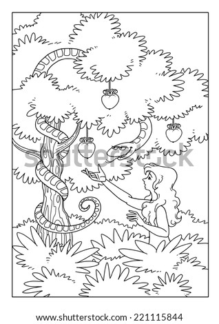 Serpent stock photos images pictures shutterstock for Tree of knowledge of good and evil tattoo