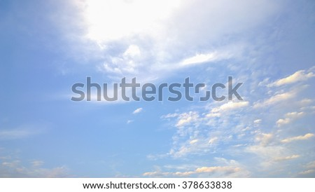 The soft cloud - stock photo