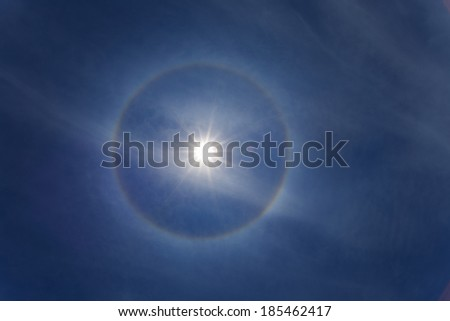 the solar corona, ring around the sun background