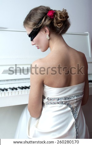 The soul music - stock photo