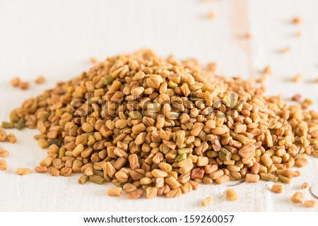 The spice fenugreek which is used a lot in Indian cooking