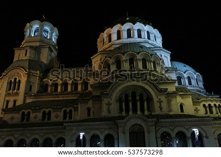 The St. Alexander Nevsky Cathedral is a Bulgarian Orthodox cathedral in Sofia, the capital of Bulgaria.