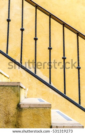 iron railings stock images