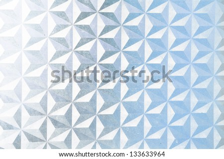 the star glas texture from the windows - stock photo