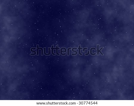 the starry night sky, abstract cosmic background