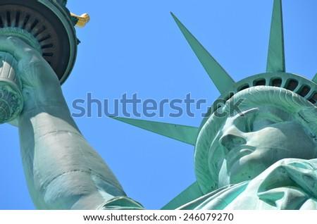The Statue of Liberty, New York City, USA - stock photo